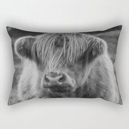 Highland cow III Rectangular Pillow