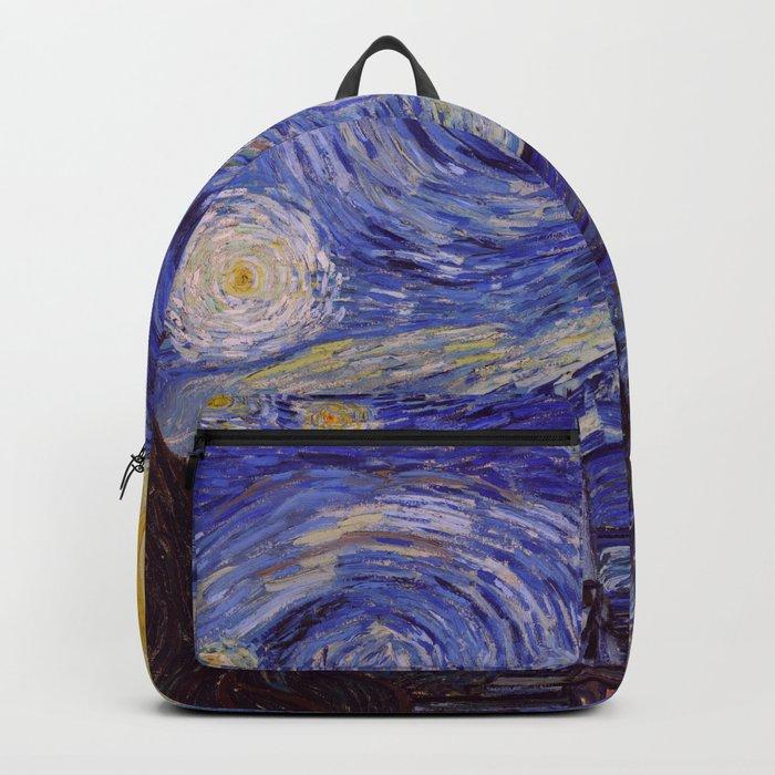 Vincent Van Gogh Starry Night Rucksack