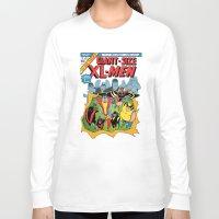 men Long Sleeve T-shirts featuring XL-MEN by Fuacka