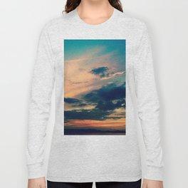 """Chicago Sunset of Hues"" Long Sleeve T-shirt"