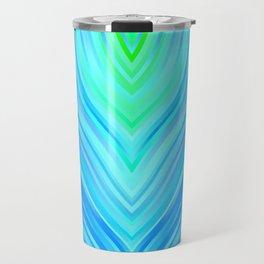 stripes wave pattern 3 s180i Travel Mug