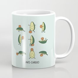 Avo-cardio Coffee Mug