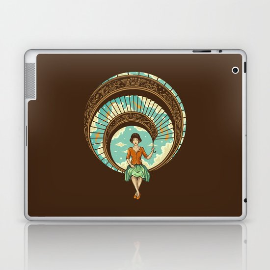Welcome to My World Laptop & iPad Skin