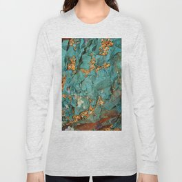 Gold and Copper Long Sleeve T-shirt