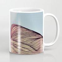 dune Mugs featuring Sand Dune by Brontosaurus