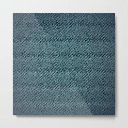 Denim texture Metal Print