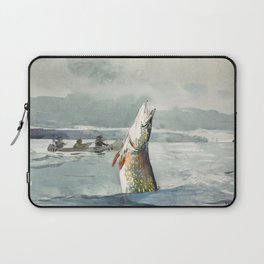 Winslow Homer - Pike, Lake St. John, 1897 Laptop Sleeve