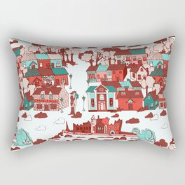 Cashel of The Kings Strong Color Option Rectangular Pillow