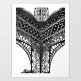Paris [Sky cut N°18] France Art Print