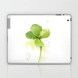 Four Leaf Clover Lucky Charm Laptop & iPad Skin
