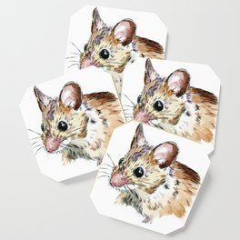 Little Brown Mouse Coaster