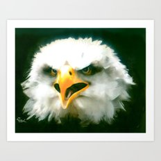 WAKE UP AMERICA !!! Art Print