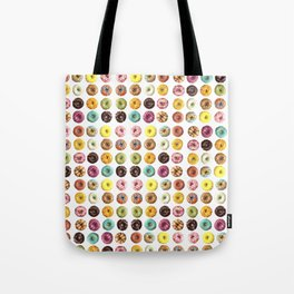 Eat all the donuts Tote Bag