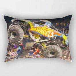 Team Hot Wheels Firestrom Rectangular Pillow