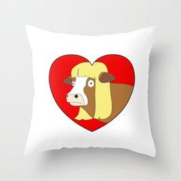 Moolisa Throw Pillow