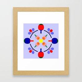 Table Tennis Design Framed Art Print