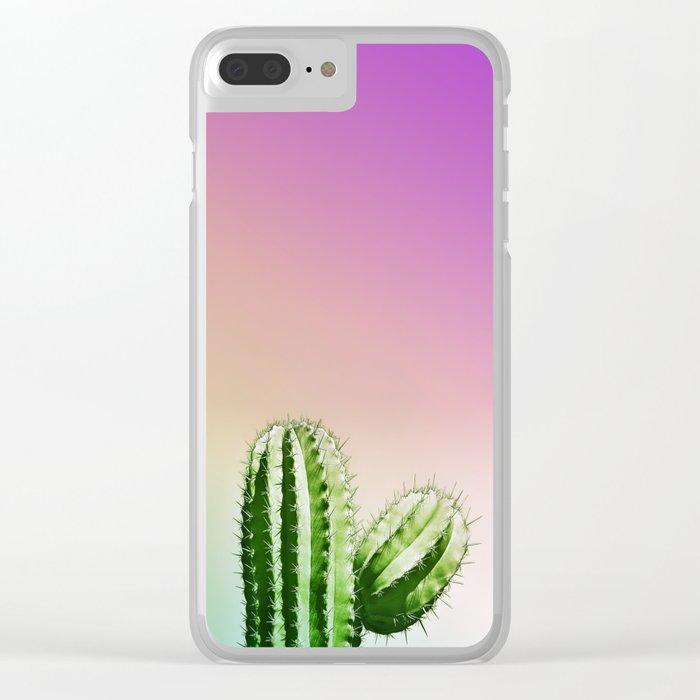 Wild Desert Clear iPhone Case