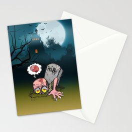 I'll be back now Stationery Cards