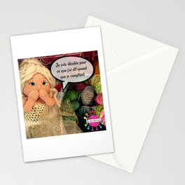Lou s'excuse! Stationery Cards