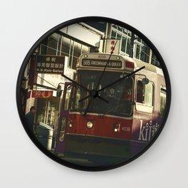 505 Dundas Streetcar China Town Wall Clock