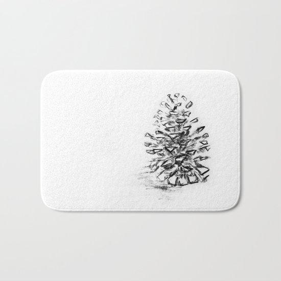 Pine Cone Bath Mat