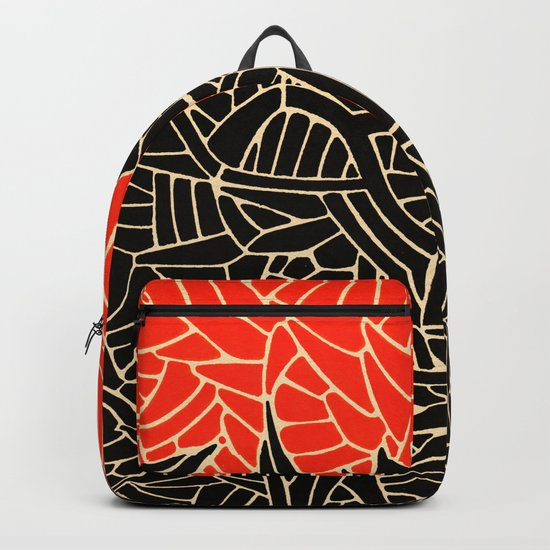 - fall : a red storm and the sea - Backpack