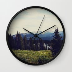 Lake Irwin Wall Clock
