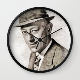 Alec Guiness by JS Wall Clock