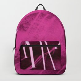 Pink Snow Backpack