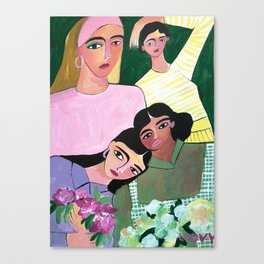 Millenial colors Canvas Print