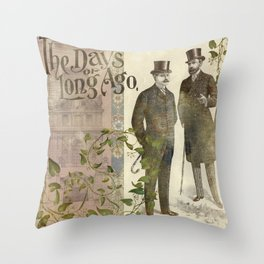The Days of Long Ago Throw Pillow