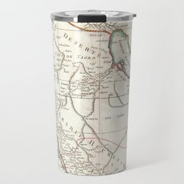 Vintage Map of Saudi Arabia (1771) Travel Mug