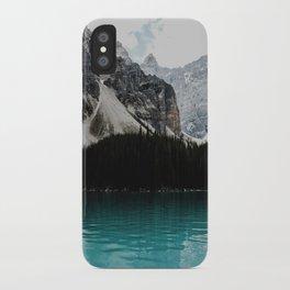 Lake Moraine, Banff National Park iPhone Case
