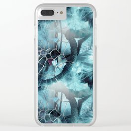 Web Of Dreams Clear iPhone Case