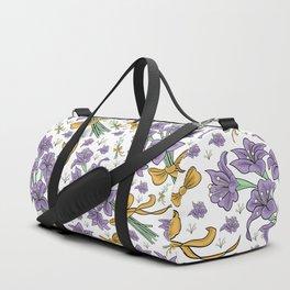 Floral pattern Duffle Bag