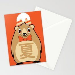 Natsu - Season bear Summer Stationery Cards