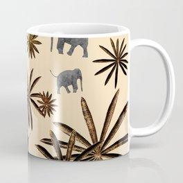 Palm Tree Elephant Jungle Pattern #3 (Kids Collection) #decor #art #society6 Coffee Mug