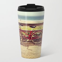beach Bike Travel Mug