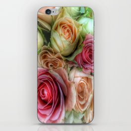 Roses - Pink and Cream iPhone Skin