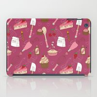 baking iPad Cases featuring Shaking n' Baking by Valentina Cariel