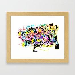 Rainbow & Innocence Framed Art Print