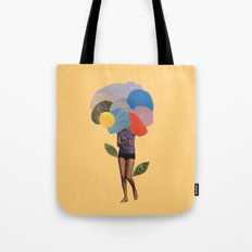 i dream of you amid the flowers Tote Bag