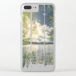 Peekaboo 7 Clear iPhone Case