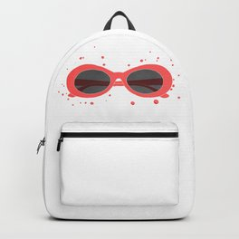 red sunglasses Backpack