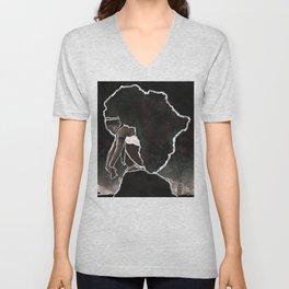 Africa Thinking Unisex V-Neck