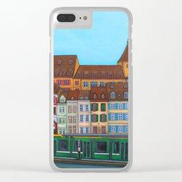 Barfüsserplatz Rendez-vous Clear iPhone Case