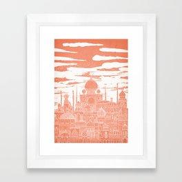 Venus Celestial City Framed Art Print