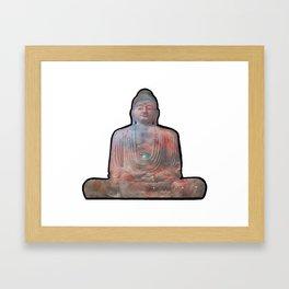 Buddha of Orion Framed Art Print