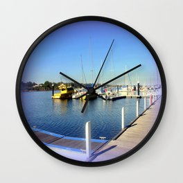 Dreaming on the Water's Edge! Wall Clock