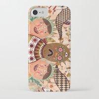 surrealism iPhone & iPod Cases featuring Folk Surrealism by CrazyMavis